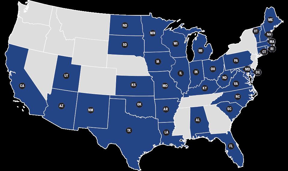 TAPS Members Map